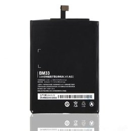 $enCountryForm.capitalKeyWord Canada - Battery for Xiaomi M4i BM33 Replacement High Capacity 3030mAh Li-ION Mobile Phone Parts for Xiaomi 4i M4i with logo free shipping
