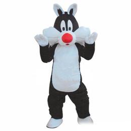 $enCountryForm.capitalKeyWord UK - Discount factory sale Cat Mascot Costume Cartoon Fancy Dress Outfit Free Ship Adult Size