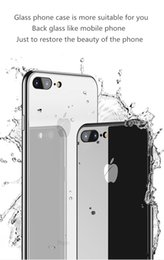 cell phone mirror cover NZ - Tempered Glass Mirror Cell Phone Case For iPhone X XS XR XSMAX 10 8 7 iPhone 6 S 6S Plus 6Plus 6sPlus 7Plus 8Plus Luxury shockproof Cover