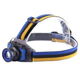 $enCountryForm.capitalKeyWord Australia - 4.2V 3W 500LM Q5 LED Focus Headlamp 3 Modes Rechargeable Zooming Lens Light