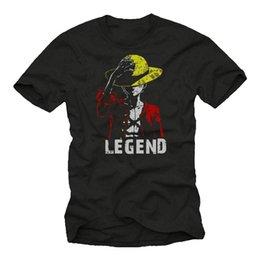 $enCountryForm.capitalKeyWord Australia - D. Legend No One - Luffy T-Shirt - Straw Hat Anime Gifts for Men