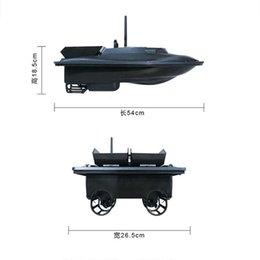eu smart plug Australia - EU US UK Flytec 2011-5 Fishing Tool Smart RC Bait Boat Toys Dual Motor Fish Finder Ship Boat Remote Control 500m Fishing Boat