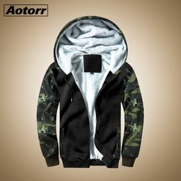$enCountryForm.capitalKeyWord Australia - New Men Overout Jacket Winter Thick Warm Coat Fleece Zipper Mens Brand Jacket Hoodies Coat Sportswear Male Streetwear US Size