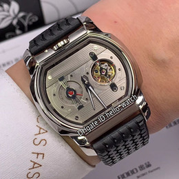$enCountryForm.capitalKeyWord Australia - New L.U.C Engine One H 168560-3001 Silver Dial Tourbillon Automatic Mens Watch Steel Case Rubber Strap Classic Racing high Quality Watches