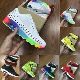 Men s fashion low shoes online shopping - 2019 KPU White Rainbow Running Shoes Mens Trainers Chaussures Triple S s Man Fashion Casual Sports Designer Shoes Size