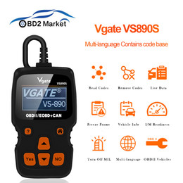 Diagnostic Readers Australia - Vgate Original VS890S car diagnostic OBD2 scanner Auto Scanner tool code reader better than ELM 327 OBD OBD2 Diagnostic Tool
