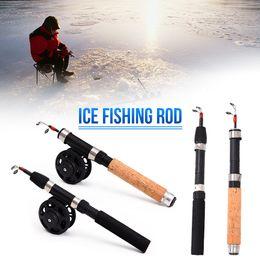 $enCountryForm.capitalKeyWord Australia - 65cm Telescoping Carbon Ice Fishing Rod Mini Pole Winter Ultra-light Fishing Tackle