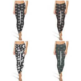 $enCountryForm.capitalKeyWord Australia - Ohio Bobcats football black Fashion Women Design Yoga pants Pockets Casual Four-way stretch Suitable for Dance player gray green photo