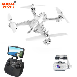 Helicopters Toys Camera Australia - Gobal Drone FPV Drones with Camera HD 1080P Wide-angle Hover RC Helicopter Remote Control Toys for Boys Camera Dron Quadrocopter