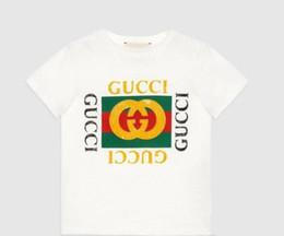 $enCountryForm.capitalKeyWord Australia - Summer Boys girls Clothing Children Designer Short Sleeve T-shirt Kids Print Cat Shirt Tops Boy Tees 2-8T Years
