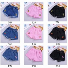 $enCountryForm.capitalKeyWord NZ - 9 styles Baby shorts jeans Hot new Girls Summer Shorts Denim Kids Girls Short Children pants kids designer for girl clothing C11