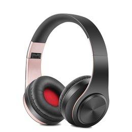 $enCountryForm.capitalKeyWord UK - New Portable Wireless Headphones Bluetooth Stereo Foldable Headset Audio Mp3 Adjustable Earphones with Mic for Music