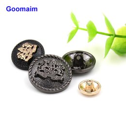 $enCountryForm.capitalKeyWord Canada - 100 pcs 15 mm relief double lion metal buttons sewing jean metal buttons for ladies sweater fashion coat buttons for jeans