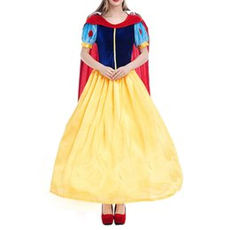 $enCountryForm.capitalKeyWord UK - Lady Snow White's Role As Princess's Party Dresses Girl's Birthday Cosplay Dresses Adult Show Dresses Fairy Tales Lady's Dress
