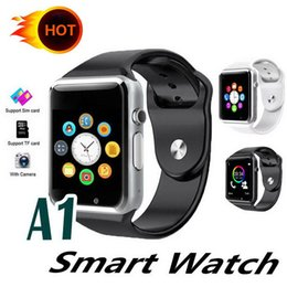 $enCountryForm.capitalKeyWord Australia - A1 smartwatch Smart Watches Low Price Bluetooth Wearable Men Women Smart Watch Mobile with Camera for Android Smartphone Smartwatch Camera