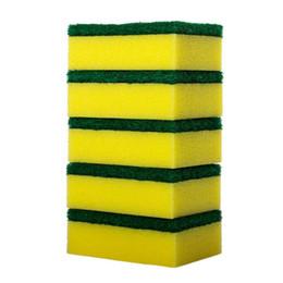 $enCountryForm.capitalKeyWord UK - Kitchen Sponge For Washing Dishes Scouring Pads Dishwashing Sponge Kitchen Cleaning Nano Cottons Wash Pot Brushes 2282c