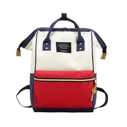Men Diapers Australia - School Backpack Men Laptop Waterproof Rucksack Mummy Maternity Diaper Bag Large Capacity Nursing Bag Fashion Travel Outdoor Bags #368435