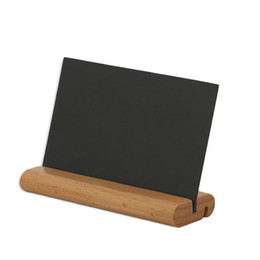 mini easel wedding UK - Mini Chalkboards Decorative Signs Blackboard Easel Stand Base Wooden Message Board Place Card Holder For Wedding And Party