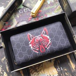 $enCountryForm.capitalKeyWord Canada - best long zipper wallet with box women brand Genuine Leather square wallet leather purse women wallet 451273