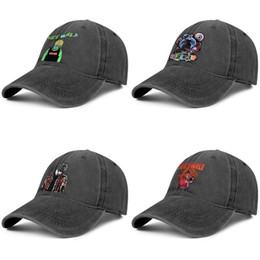 $enCountryForm.capitalKeyWord Australia - Juice WRLD Skull Poster black hats,Cowboy hat mens and women Cowboy ball design custom trucker cap baseball customize hats JUICE you me