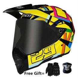 $enCountryForm.capitalKeyWord Australia - HOT sell wolf yellow Original dark Lens Motorcycle Helmet Visor Lens Full Face Shield Cas Mask Shield Black or Clear Transparent