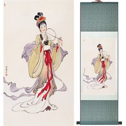 $enCountryForm.capitalKeyWord NZ - Portrait Painting Home Office Decoration Chinese Scroll Painting Women Art Paintingprinted Painting Ltw120510