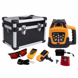Self leveling laSer levelS online shopping - Good Quality Red Leveler Lower price Self leveling Rotary Rotating Laser Level m range Red Beam