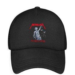$enCountryForm.capitalKeyWord UK - Kids Boys Girls Unisex Adjustable Baseball Cap Metallica And Justice for All Sun Protection Cap Mesh Hat