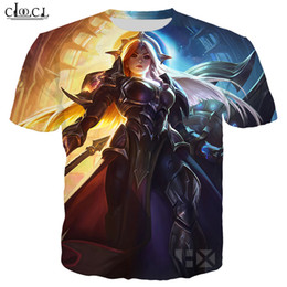 league legends games Australia - Popular Game League of Legends T Shirt Men Women 3D Print T Shirts Casual Style Hero Skin T-shirt Sweatshirt Tops T323