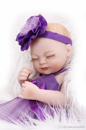 $enCountryForm.capitalKeyWord Australia - Silicone reborn baby dolls toy for girls newborn bibies collectable doll birthday Children's Day gift bedtime shower bath toy