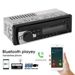 car mp3 device Australia - Universal Car Radio Stereo Music Player Bluetooth Phone MP3 Remote Control 12V Car Audio Vehicle Music Device Sale