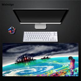 Mairuige Venda Quente de Alta Qualidade Pintura A Óleo Céu Escuro Animação Mouse Pad Computador Em Casa Desktop Essencial Anti-skid Mouse Pad