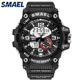 Smael Watches Australia - SMAEL Top Watches men Sport Casual Analog Quartz Clock Kids Watch Women Waterproof Digital Watch Relogio Masculino