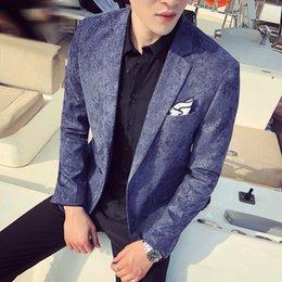 $enCountryForm.capitalKeyWord Australia - New Nightclub Youth Handsome Hair Stylist Gold Velvet Suit Male Korean Version Of The Self-cultivation British Single Suit