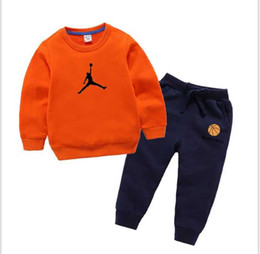 coat shirt pants Australia - 2019 classic Luxury Logo Designer Baby t-shirt Pants coat jacekt hoodle sweater olde Suit Kids fashion Children's 2pcs Cotton Clothing Sets