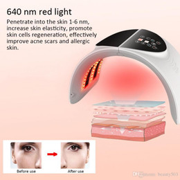 light beauty NZ - LED Light 7 Color Therapy Skin care Rejuvenation PDT Anti-aging Facial Beauty Machine with best price