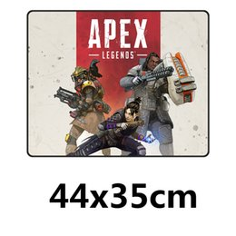 Fffas 44x35cm Apex Mouse Pad Keyboard Mat Large Game Desk Protector Gamer Rubber Mousepad For Internet Bar Decor Drop Shipping Mouse Pads
