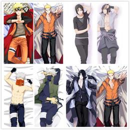 Discount dakimakura case - Suef Anime Manga Naruto Sasuke Kakashi Uchiha Itachi Dakimakura Two Sided Pillow Cushion Case Cover SY1201 Pillow Case