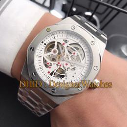 $enCountryForm.capitalKeyWord Australia - New 45mm Mens Watches Designer Bracelet Mechanical Automatic Movement Watch 316L Steel Case Hollow Dial luxury watch montre de luxe