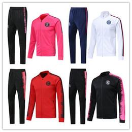 8f4c3b492 Green football jackets online shopping - 2018 paris soccer jacket tracksuit  football Training suit survetement MBAPPE
