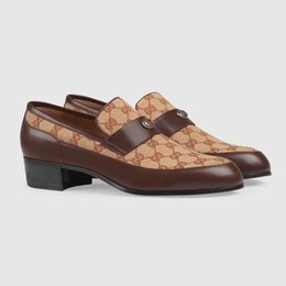 Wholesale best dress patterns for sale - Group buy Luxury Designer men s dress shoes wedding party classic casual shoes Lion Plaid pattern Genuine Leather fashion driving shoes Best quality