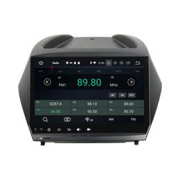Hyundai ix35 car gps online shopping - Android Octa Core quot Car DVD Radio GPS for Hyundai IX35 Tucson GB RAM GB ROM Bluetooth WIFI USB Mirror link