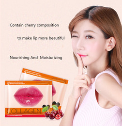 $enCountryForm.capitalKeyWord Australia - Hot Images Brand Collagen Lip Mask Moisturizing Essence Lip Care Pads Lip Patch Pad Gel for Makeup Skin Care