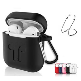 $enCountryForm.capitalKeyWord UK - Soft Silicone Case For Airpods Air Pods Shockproof Earphone Protective Cover Waterproof for iPhone X XR XS MAX Headset Accessories