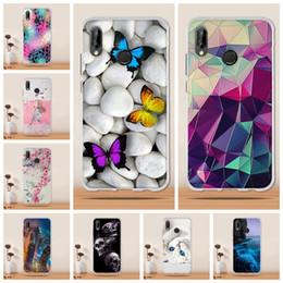 cheap white roses Australia - Cheap Fitted Cases hone Case P20 Lite Case Cover Silicone TPU Carcasa For Huawei P20 Lite Funda For Huawei P