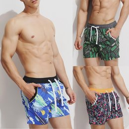 $enCountryForm.capitalKeyWord NZ - Shorts Men Summer Hot Sale Beach Shorts Mens Breathable Swim Trunks Pants Swimwear Slim Printing Zwembroek #T1