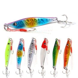 Lead For Fishing Lures Australia - NEW Lead Fish Deep Diving Sinking bass bait 2sizes Metal iron VIB Blade Lures For extreme flash and durability