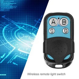 433mhz wireless remote control key Australia - Universal 4 Channel Wireless Remote Control Copy 433MHz RF Key Switch Fob Controller for Electric Gate Garage Door car