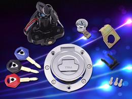 $enCountryForm.capitalKeyWord Australia - Ignition Switch Fuel Gas Cap Seat Lock Key For Yamaha YZF R1 2004-2008 YZF R6 2003-2014