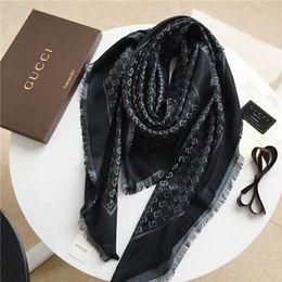 Scarf Square Cotton Australia - New women's gold and silver thread square scarf, super soft texture, elegant ladies fashion scarf, size 140*140